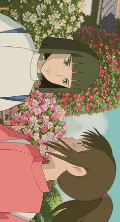 Hayao Miyazaki, Studio Ghibli Art, Studio Ghibli Movies, Old Anime, Anime Art, Animes Wallpapers, Cute Wallpapers, Studio Ghibli Background, Chihiro Y Haku