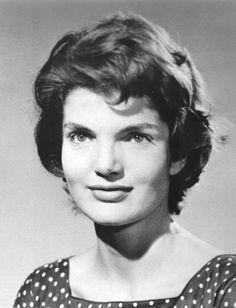 thekennedyclan:  Jackie when she was my age, 24, in 1953