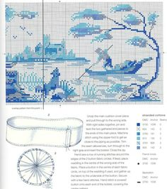 Gallery.ru / Фото #1 - Blue & White Cross Stitch-Helena Turvey - Orlanda