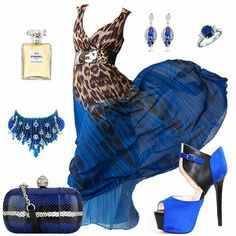 Blue animal print maxi dress    Maxi dress link: http://www.fashionmia.com/Products/appealing-v-neck-blended-leopard-maxi-dress-32720.html?color=blue&utm_source=facebook.com&utm_content=20150403-8032018EC4E2-65619758&utm_medium=FashionMia  Shoes link: http://www.fashionmia.com/peep-toe-heels-20/Most-Viewed?utm_source=facebook.com&utm_content=20150403-20-65799759&utm_medium=FashionMia