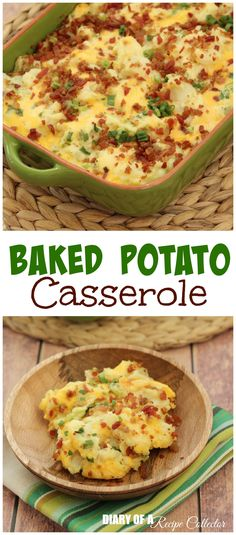 A perfect side dish to accompany any family gathering meal for the holidays or even a BBQ. This is a super easy side dish.  I love making it for just about anything.  It's all the flavors of a baked potato but in a much easier to serve form.  This recipe comes from my husband's aunt. …