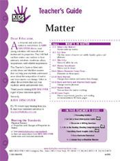 Free Download! 12-page printable Lesson Plan for Kids Discover Matter