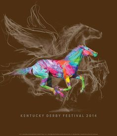 Ky Derby Festival 2014 - love this years poster!