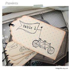 Ideas para decorar una boda con bicicletas