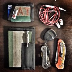 This is my pocket dump while on duty at the firehouse.
