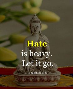 How do u let go of hating someone who intentionally worked at destroying your life? I'm not dramatically casting blame-i actually legally found out that he did this on purpose because he's a sadistic individual. Buddha Quotes Life, Buddha Quotes Inspirational, Buddha Wisdom, Buddhist Quotes, Positive Quotes, Wise Quotes, Quotable Quotes, Words Quotes, Sayings