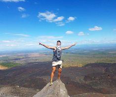 On top!  #vulcanoboarding #cerronegro #nicaragua