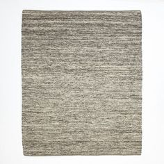 Dining Room Rug Idea. Sweater Wool Rug - Charcoal | west elm