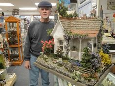 Bill Lankford 1/2 scale house & landscaping