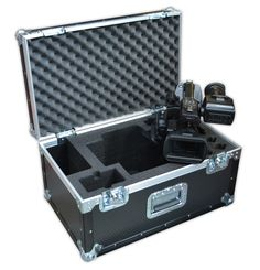 This Sony Camera Case is manufactured using 7mm astraboard and reinforced with black plastic edging. This camera case is best for any compact, valuable AV kit.
