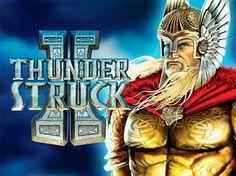 Игровой автомат Thunderstruck 2 на деньги.  Скандинавский бог Тор вновь присутствует в автомате Thunderstruck II, он является продолжением одноименного сюжета, который так понравился игрокам разных категорий – и новичкам, и постоянным посетителям онлайн казино на деньги с в�