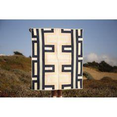Cabrillo Quilt — Vacilando Quilting Co. Neutral Quilt, Textiles, Quilting Designs, Quilt Design, Quilting Ideas, Quilting Projects, Quilt Making, Fiber Art, Quilt Patterns