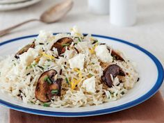 Mantarlı pilav Tarifi - Türk Mutfağı Yemekleri - Yemek Tarifleri