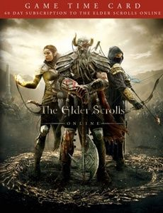 The Elder Scrolls Online 60 days time card game play time