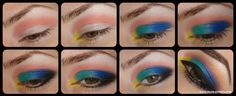 #Color #Colorful #Explosion #Eye #Makeup #Tutorial #BHCosmetics @ЯНА НАЛБАНТОВА <3 Join the online #beauty community: http://www.glam-express.com
