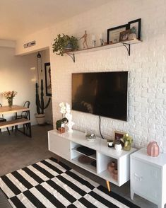 Small Living Rooms, Redecorate Bedroom, Living Room Colors, Home Room Design, Living Room Decor Apartment, Dorm Room Decor, Aesthetic Room Decor, Apartment Decor, Home Deco