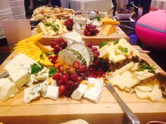 Local Cheese Display