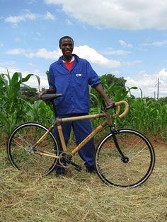 Bamboo bikes!