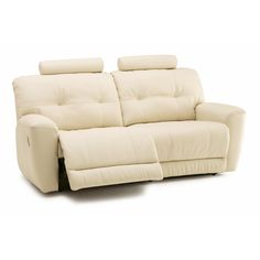 Galore Reclining Sofa by Palliser Furniture  Lots of different colors - leather Power Type Overall Product Weight: 201 lb. Other Dimensions Overall: 40'' H x 79'' W x 38'' D Seat: 21'' H x 62'' W x 22'' D Number of Seats: 3 !!!!!!! Headrest can be adjusted up and down and removed Headrest on the top move up and down and are removable Wall Hugger: Yes $1300 Inclines, does not recline