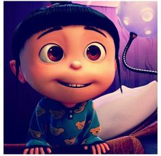 There is not a single thing that I don't love about Despicable Me! The characters, minions, scripts, and music, everything is just so hilarious! Who doesn't love Agnes? Cuteness overloaded!