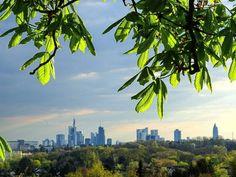 Die beste Aussicht auf die Skyline hast Du vom Lohrberg aus. | 24 Geheimnisse, die Dir Menschen aus Frankfurt am Main nicht verraten