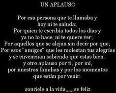 #aplausos #feliz