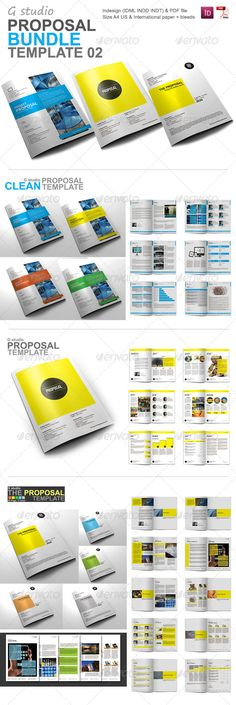 SEO - Business Proposal Templates Bundle Business proposal - proposal templates