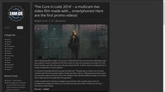 'The Cure in Lodz 2016' – a multicam live video film made with… smartphones! Here are the first promo videos!   EBM GR http://www.ebm.gr/2017/10/17/the-cure-in-lodz-2016-a-multicam-live-video-film-made-with-smartphones-here-are-the-first-promo-videos/ #Th