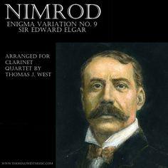 Elgar Nimrod Clarinet Quartet by Thomas J. West