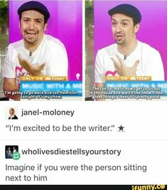 """imagine if you were the person sitting next to him."" Oh my gosh, I could not contain myself. I would probably talk him to death and not shut up and be annoying as hell, but he would be nice about it of course."