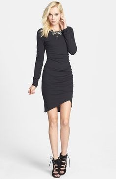 Tildon Ruched Long Sleeve Dress available at #Nordstrom