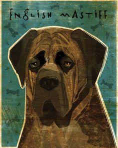 English Mastiff (Brindle)