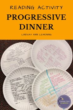 Are you an English teacher in need of engaging reading activities for your middle school or high school English class? Stage a progressive dinner of knowledge with fiction, nonfiction, and poetry texts or excerpts of your choosing. Students will take note 7th Grade Ela, 6th Grade Reading, Middle School Reading, Middle School Classroom, Middle School English, English Classroom, English Teachers, Ela Classroom, Google Classroom