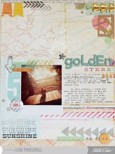 page featuring HEYDAY by Lisa Truesdell (@gluestickgirl)