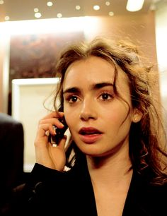 Lily Collins (Born: Lily Jane Collins - March 18, 1989 - Guildford, Surrey, England, UK); daughter of Jill Tavelman & Phil Collins