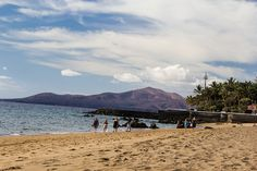 Lanzarote Busy Beach Lanzarote Busy Beach The extraordinary volcanic soils of Lanzarote greet you and the islands calmness and silence��_