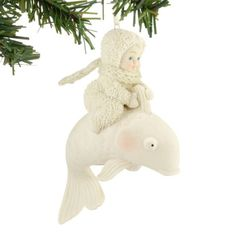 Snowbabies Baby Riding The Wave Ornament, 3.5-Inch. #Snowbabies #Statue #Sculpture #Decor #Gift #gosstudio . ★ We recommend Gift Shop: http://www.zazzle.com/vintagestylestudio ★