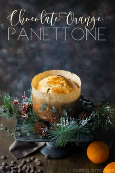 Business Cookware Ought To Be Sturdy And Sensible Panettone Is Such A Classic For The Holidays, But This Version Is Totally Next-Level The Candied Orange Peel And Bittersweet Chocolate Are Studded All Throughout This Moist, Sweet Loaf, And The Flavors Are Best Dessert Recipes, Brunch Recipes, Fun Desserts, Bread Recipes, Holiday Recipes, Baking Recipes, Baking Breads, Christmas Recipes, Milanesa