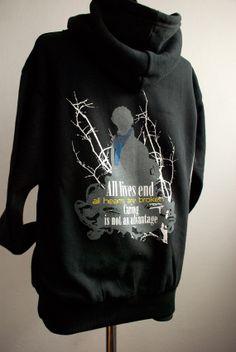 SHERLOCK Hoodie : All lives end on Hoodie sweatshirt Long Sleeve - Summeriscoming Hooded Sweatshirts, Hoodies, End Of Life, Sherlock, Benedict Cumberbatch, Long Sleeve, T Shirt, Geek Stuff, How To Wear