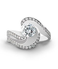 Brilliance Engagement Ring - Mark Schneider Design