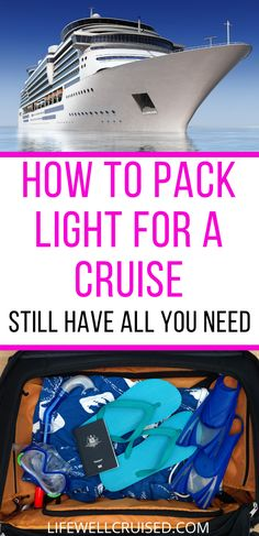 Are you going on a cruise and wondering what to pack, and how to pack light? These tips will help you to pack in a carry o bag or small suitcase, and bring what you need (and avoid the dreaded overpacking!). Cruise packing list for women included. #cruisepacking #packinglist #cruisepackintips #packinghacks #carryonpacking #packinglight #cruisetips Cruise Port, Cruise Travel, Cruise Vacation, Cruise Ship Reviews, Best Cruise Ships, Packing List For Cruise, Cruise Tips, Carnival Cruise Ships, Pack Light