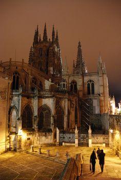 Nocturna de la catedral de Burgos