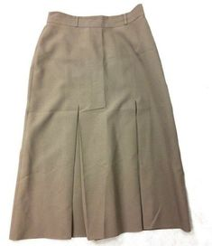 f914c862d St Michael Womens Pleated Skirt Grey Size 14 Long UK Vintage XX #fashion # clothing