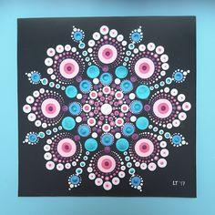 Dot art painting
