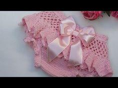 Crochet Case, Crochet Baby Dress Pattern, Baby Girl Crochet, Crochet For Kids, Knit Crochet, Crochet Patterns, Bikinis Crochet, Cutwork Embroidery, Crochet Doll Clothes