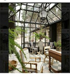 Pub Interior, Interior Garden, Interior And Exterior, Bel Air House, Old Style House, Victorian House Interiors, Home Greenhouse, Pergola, Outdoor Spaces