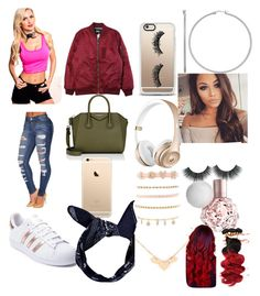 """Untitled #23"" by fathiaajokeanimashaun on Polyvore featuring Stussy, adidas, Givenchy, Boohoo, Casetify and Charlotte Russe"