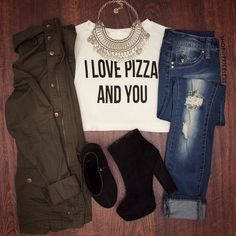 """- Details - Size Guide - Model Stats - Contact I love lamp. Brick from """"Anchorman"""" would be all over this white I Love Pizza Crop Top. Features a classic t-shirt style with scoop neck , stretch fabric"""