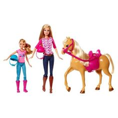Barbie Sisters Moments Riding Lesson Horse and Dolls Set Pony Doll Mattel 3 for sale online Club Chelsea, Chelsea Doll, Barbie Doll Accessories, Horse Accessories, Bathroom Accessories, Barbie Stacie Doll, Barbie Dolls, Barbie Stuff, Shopkins Bubbleisha