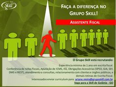Faça a diferença e inscreva-se no processo seletivo do Grupo Skill (filial GO).